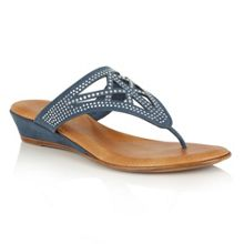 Lotus Delia toe post sandals