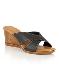 Ashling wedge mules
