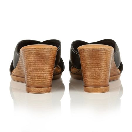 Lotus Ashling wedge mules