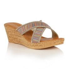 Lotus Arika wedge mules