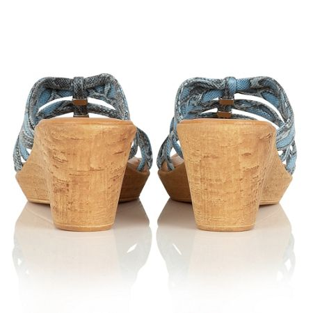 Lotus Adona wedge mules