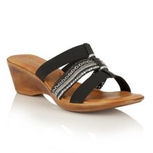 Lotus Delfina wedge sandals