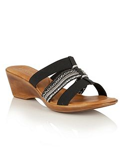 Delfina wedge sandals