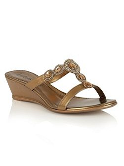 Alessia wedge sandals