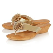 Lotus Monaco toe post sandals