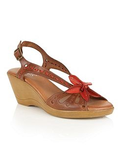 Trevi wedge sandals