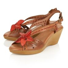 Lotus Trevi wedge sandals