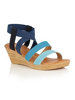 Jeanine wedge sandals