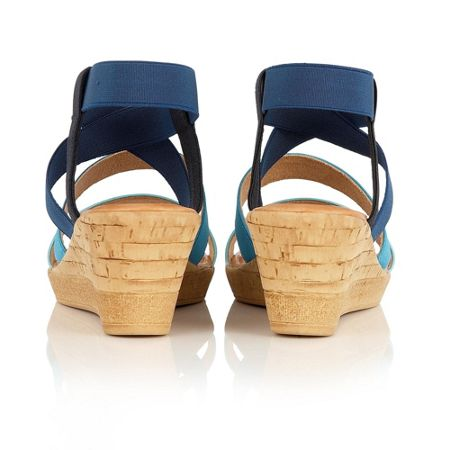Lotus Jeanine wedge sandals