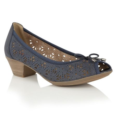 Lotus Relife Jucunda peep toe courts