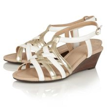 Lotus Ambra wedge sandals