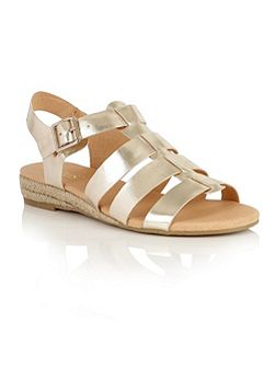 Makepeace open toe sandals