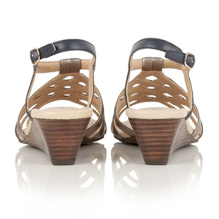 Lotus Ambra ii wedge sandals
