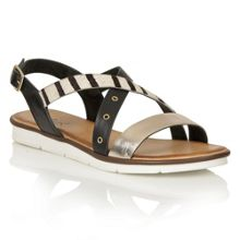 Lotus Tigerlily flat sandals