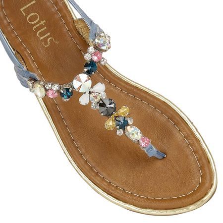 Lotus Enrica toe post sandals