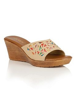 Poppsy wedge sandals