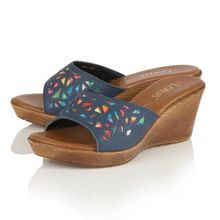 Lotus Poppsy wedge sandals