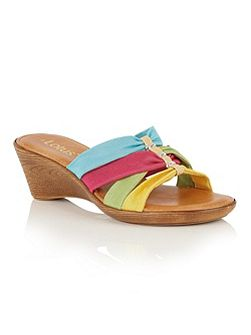Martha ii wedge mules