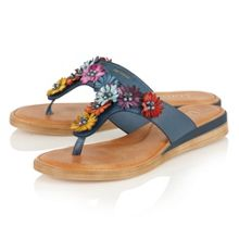 Lotus Zealous toe post sandals