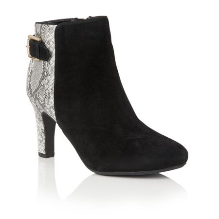 Lotus Kanon animal print ankle boots
