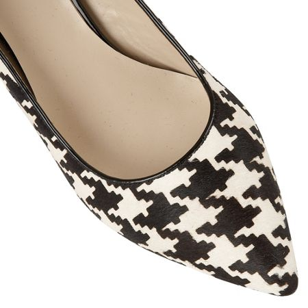 Lotus Ginny dog tooth print courts