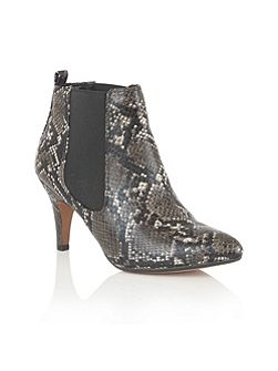 Chika animal print ankle boots