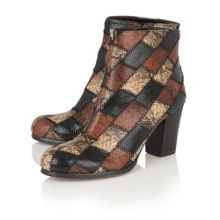 Lotus Laura animal print ankle boots