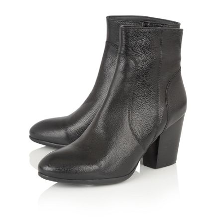 Lotus Verbena leather ankle boots