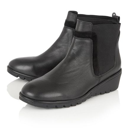 Lotus Zinnia leather ankle boots