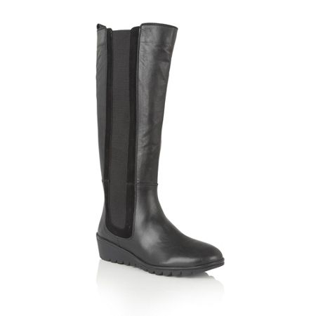 Lotus Alona leather knee high boots