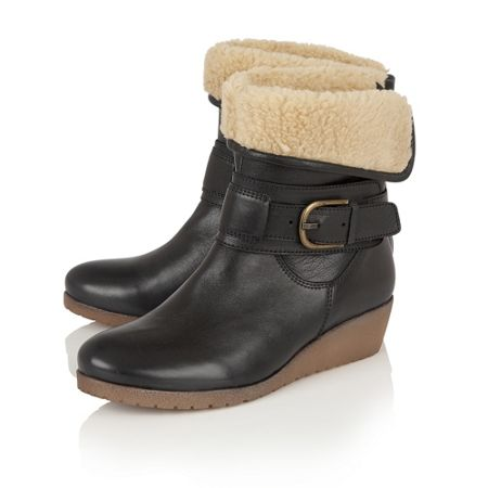 Lotus Madara leather ankle boots