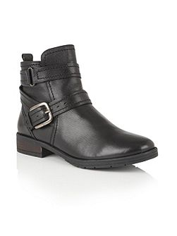 Kalei zip up ankle boots