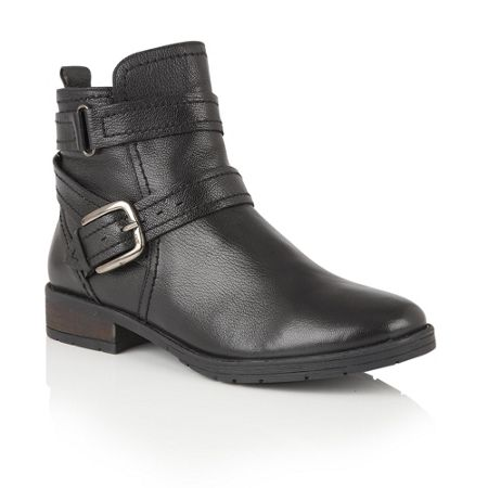Lotus Kalei zip up ankle boots