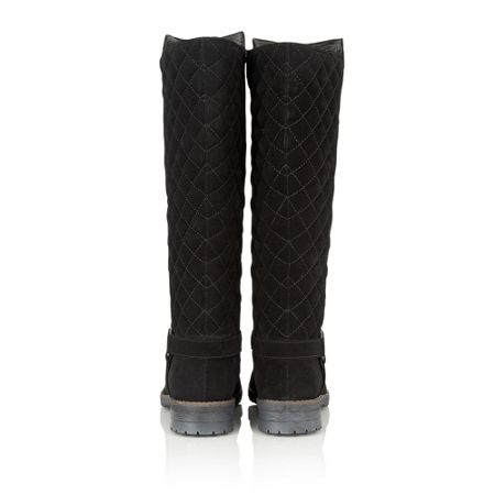 Lotus Bayberry suede knee high boots