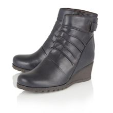 Lotus Zahira leather ankle boots