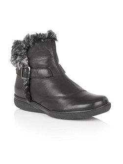 Nemesia leather ankle boots