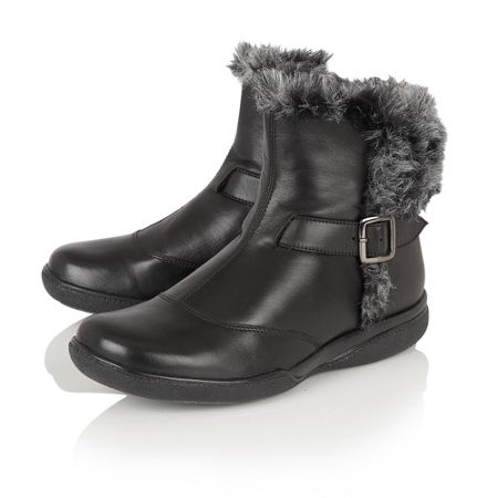 Lotus Nemesia leather ankle boots