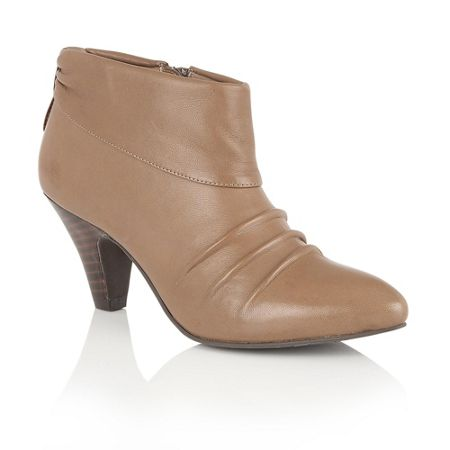 Lotus Hickory zip up ankle boots