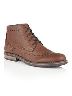 Hawthorn lace up brogue boots