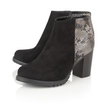 Lotus Gemini animal print ankle boots