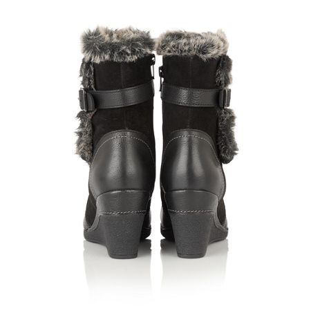 Lotus Varda leather calf boots