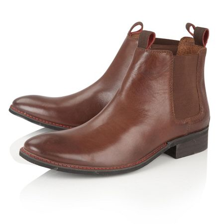 Lotus Since 1759 Jamison double tab chelsea boots