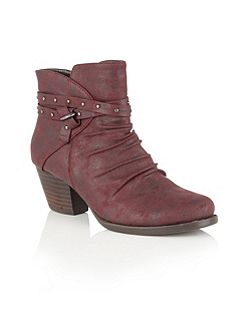 Philox zip up ankle boots