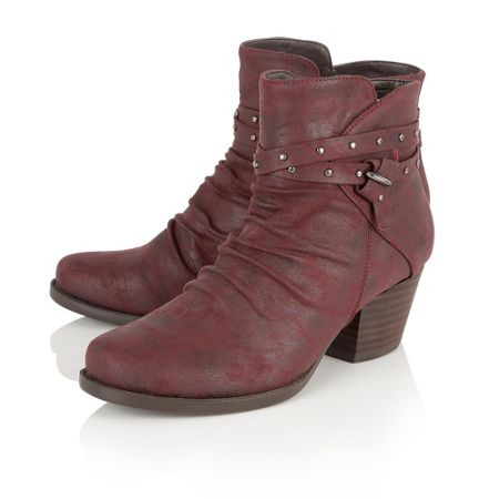 Lotus Philox zip up ankle boots