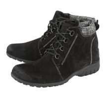 Lotus Santana suede lace up ankle boots
