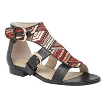 Lotus Hixson rafia sandals