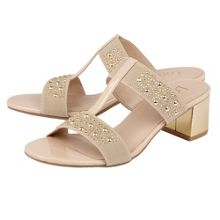 Lotus Rosana shiny elastic sandals