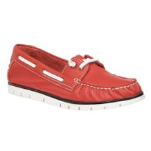 Lotus Silverio leather boat shoes