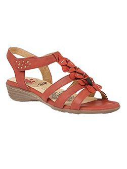 Relife Sonal rip tape strap sandals