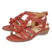 Lotus Relife Sonal rip tape strap sandals